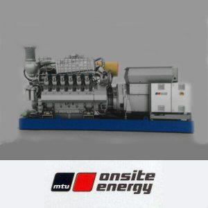 مشخصات فنی موتور گاز سوز MTU