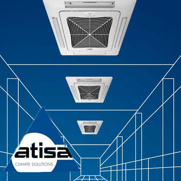 فن کویل4 طرفه آتیسا (ATISA)
