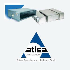 فن کویل کانالی فشار بالا آتیسا (ATISA)